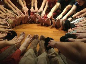 Anatomía de los pies bailarinas de ballet