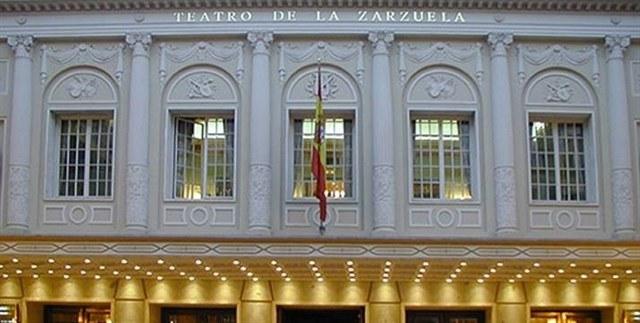 Teatro de la zarzuela Madrid