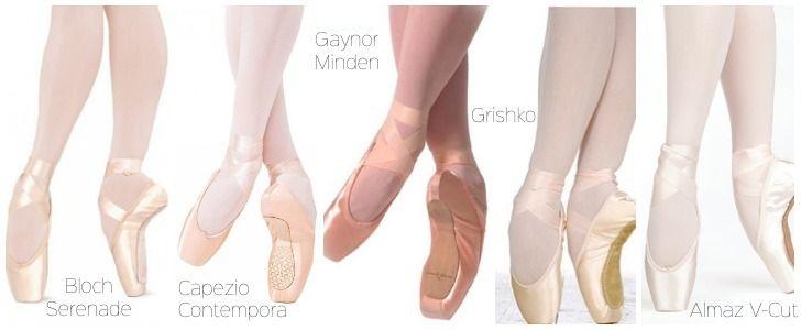 tipos-de-puntas-de-ballet